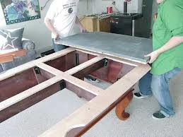 Pool table moves in Waukegan Illinois